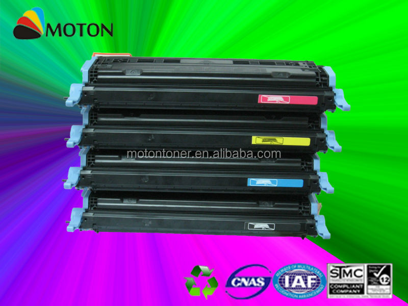 Compatible color toner cartridge for HP q6000a q6001a q6002a q6003a