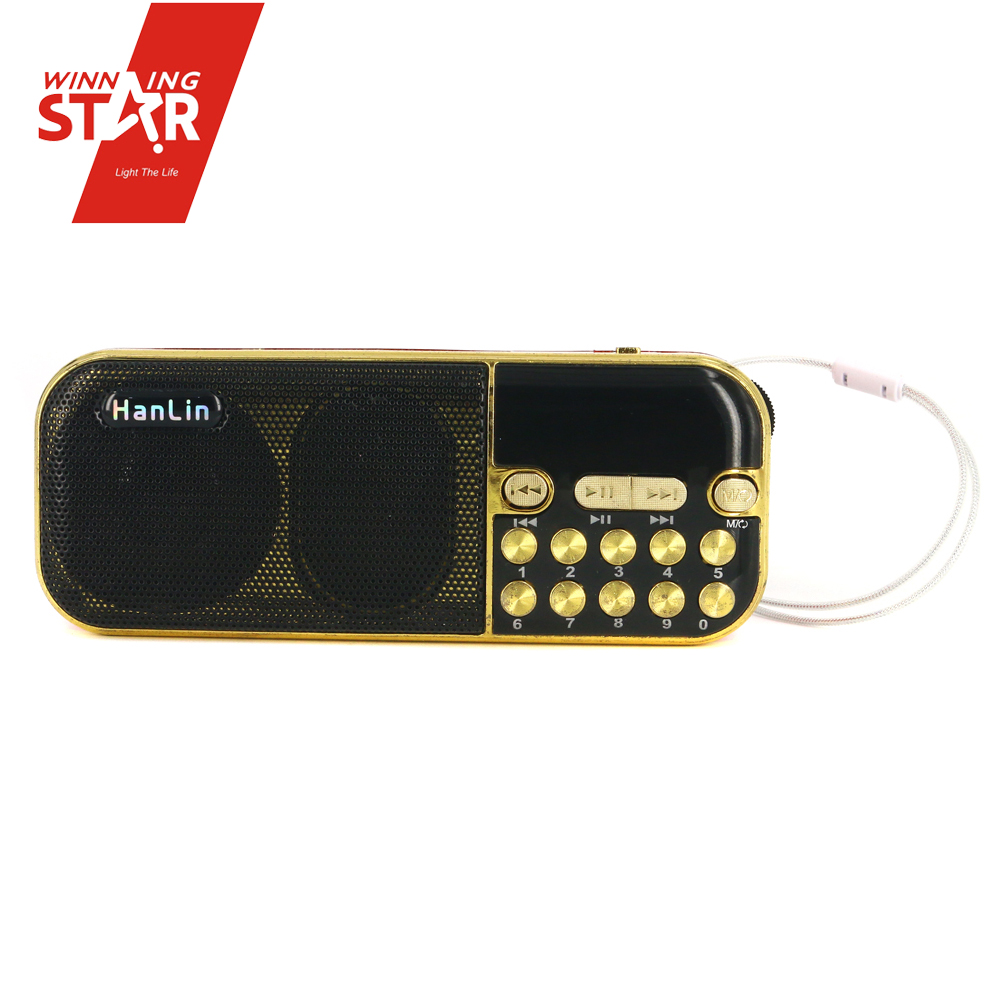 Winningstar alarm clock radio mp3 usb FM type and mini pocket digital am fm radio