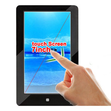HD 720P 7 inch touch Screen Ebook Reader Built-in 8GB mp3 mp4 Game Function e book (DWS73)