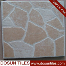 Grid shape white and yellow single loading ceramic floor tile