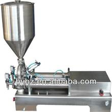YB-50J semi-auto oil | shampoo | liquid | ice cream bottle piston filling machine