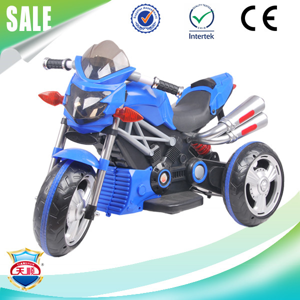 High emulational rechargeable battery children motorcycle kids electric motor tricycles