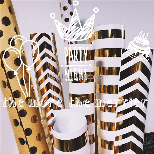 Personalized Custome Logo Wrapping Paper For Gift Decorations