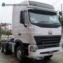 6*4 420 Horse Power SINO TRUK HOWO A7 Tractor Truck Head For Sale