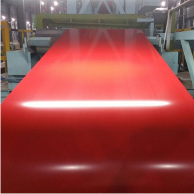 Coil steel roll color prepainted galvanized steel roofing sheet