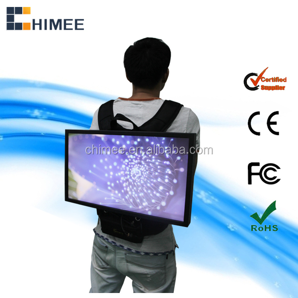 22inch hot sale new product backpack bulk cheap lcd monitors 12v