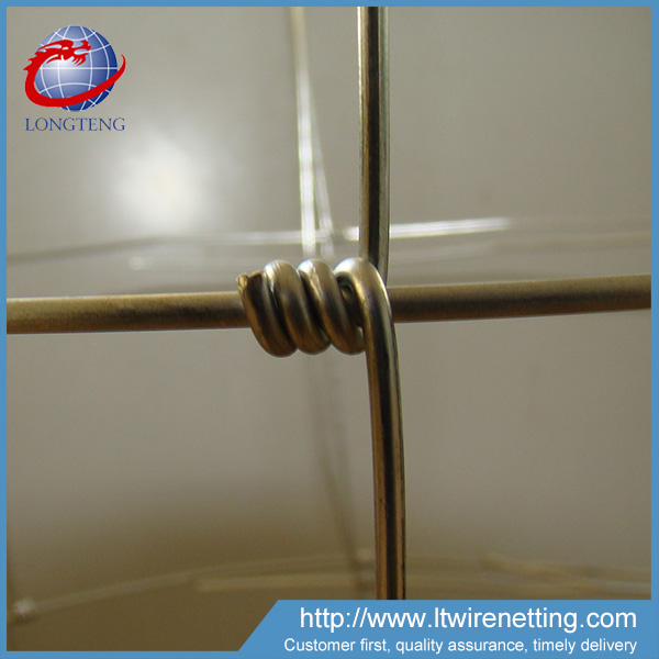Anping factory cheap price durable galvanized woven wire sheep fence