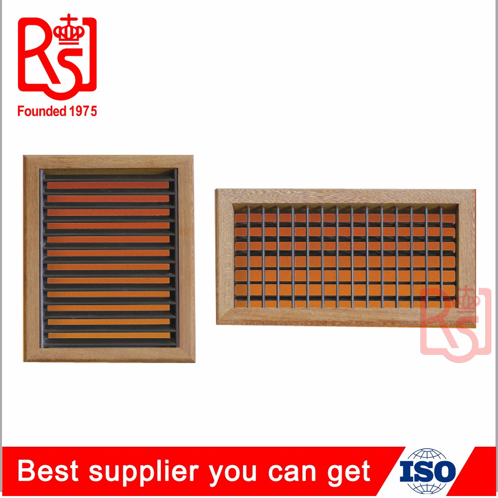 Customized Air Conditioner Ventilation Wood Floor Return Air Grille