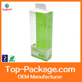 2017 hotsale UV offset printing clear PET/PVC/PP packing box