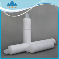 End Filtration in super purify water LCD Nylon 66 Membrane Cartridge Filter