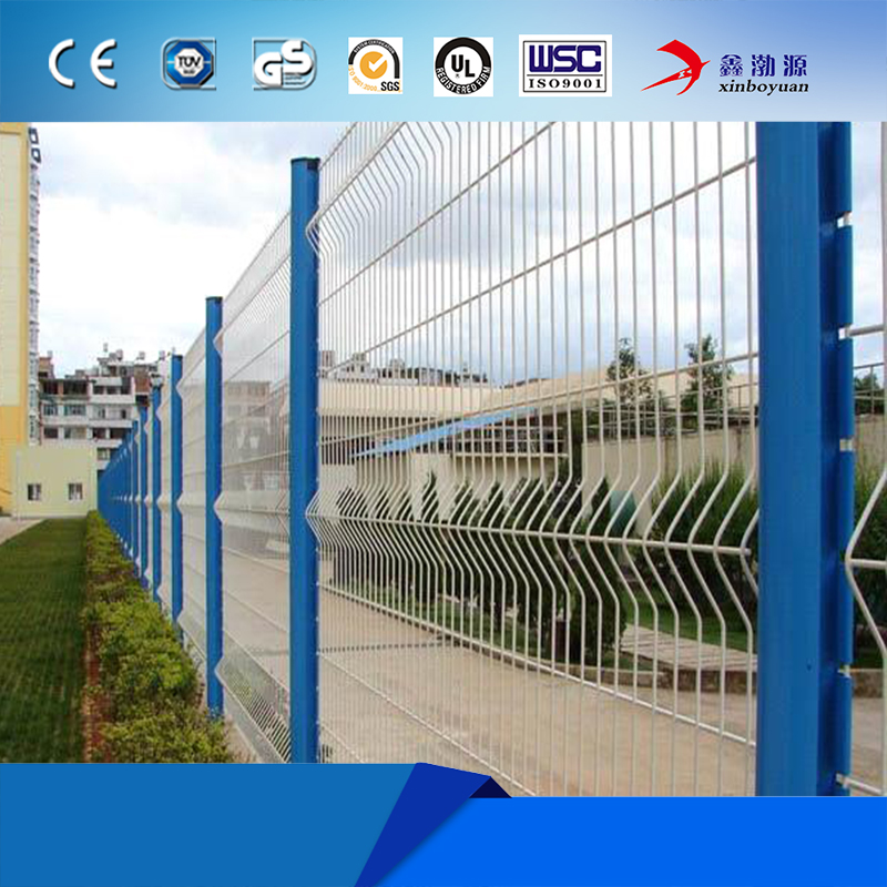 2x2 galvanized welded wire mesh for Construction Fence Panel