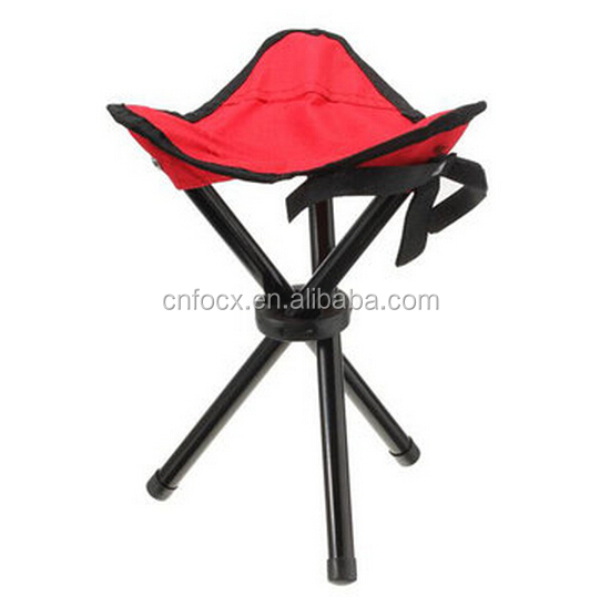 Outdoor Tripod folding chair / Camping Fishing Beach chair / Picnic BBQ Foldable Stool