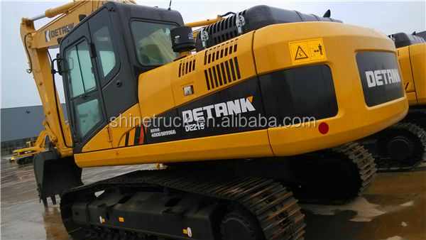 high efficiency hydraulic excavator/excavatrice/pelleteuse