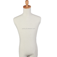 Sewing wrapped with fabric male mannequin for adults man dummy