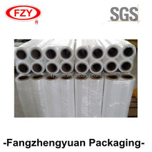 China SGS certificated factory 17micron 23micron pallet stretch film for wrapping