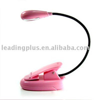 LED Clip Book light for kindle 3G, light for reading universal book