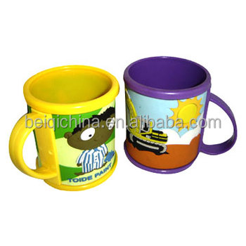 HOT SALES rubber mug with customization