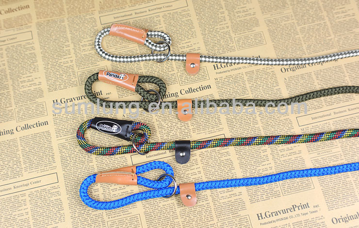 Nylon Rope Leash for Pet, Fashionable Dog Leash 1/3
