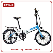 2017 Environmental Care Electrical Bicycle 36V 8AH Folding Electric Pedelec 20 inch Import Spare Parts