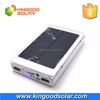 PAYPAL payment wholesale 3 Led solar Phone charger 3000mAh for outside camping