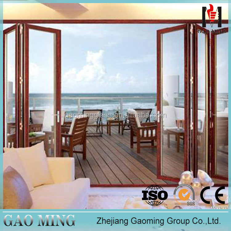 Best Price Aluminum Bifold Glass Folding Door