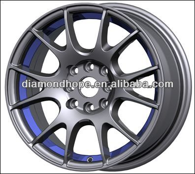"ZW-P226 hot sale 18"" 114.3 rims alloy wheels/rims in stock"