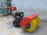 plow lawn bristle broom gas powered broom gas powered sweeper/ snow plow