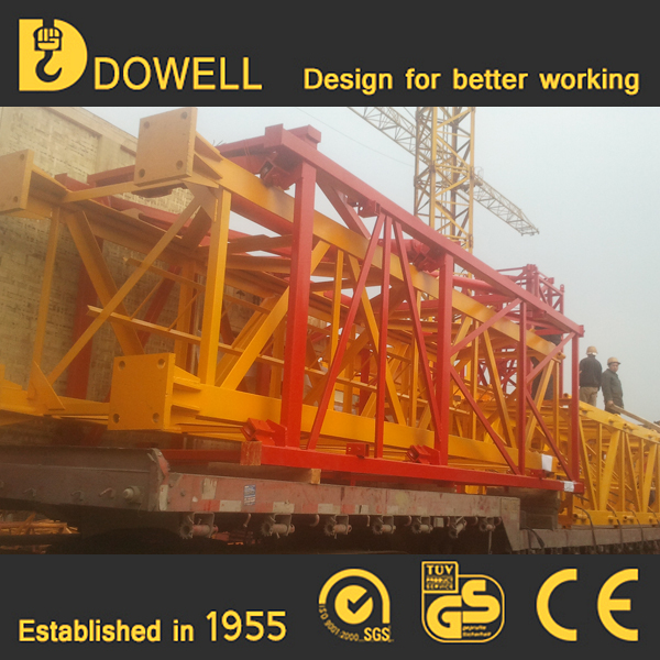 Self-ascending small standard 1-16t fixed tower crane