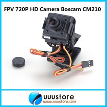 3U-80069 for quadcopter racing drone New Real Rc Boscam Cm210 720p Hd Mini Camera Fpv Camera W/nylon Pan Tilt Ptz And Servo