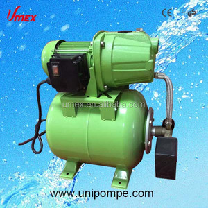 Automatic garden water suction pump with pressure tank