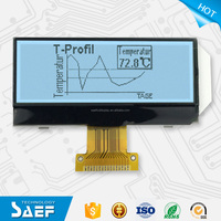 Positive type FSTN 192*64 Graphic LCD Module UC1609C Display
