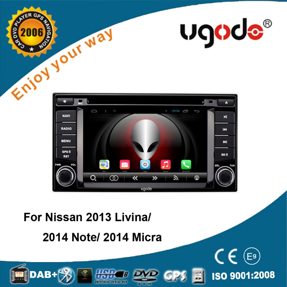 6.2 inch 2 din touch screen car dvd gps navigation for nissan Livina/Note/ Micra