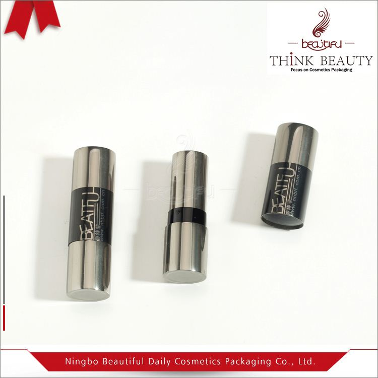 Clear Small Empty Red Cosmetic Aluminium and Plastic Lipstick Lotion Tube and Containers
