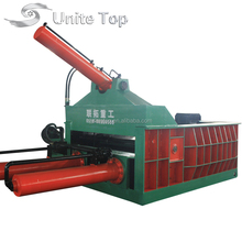 Factory direct supply hydraulic horizontal used scrap metal baler