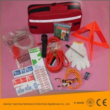 New style Low Cost auto emergency tool bag and manufacture car emergency safety hammer car kit