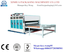 ASE-Semiautomatic flexo 3 colors printing machine