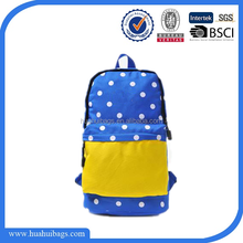 Fancy New Design College Wholesale Male School Backpack with One Strap