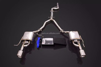 CATBACK EXHAUST SYSTEM FOR BMW F10 520I 523I 525I 528I 530I TO 2 OUTLETS