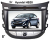(for Hyundai HB20) 2 din 7 inch car dvd player with GPS
