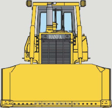 Excellent machine HF220Ybulldozers video