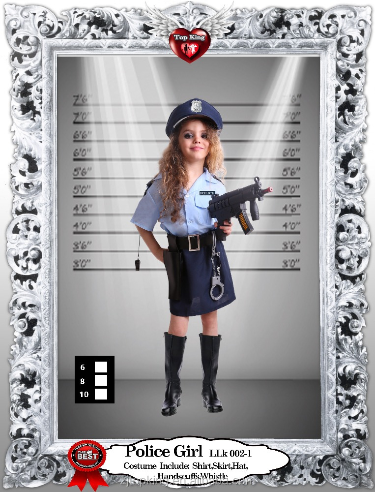 OEM Service Cosplay Police Character Type and Sexy Costumes for Girls