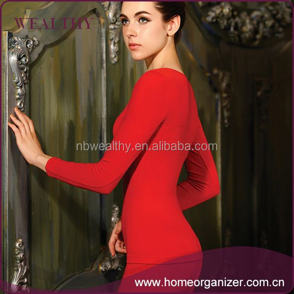 The best choice factory directly custom cheap women's long johns underwear
