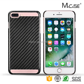 Newest Hollow Carbon Fiber Mobile Phone Covers, For iphone 7plus Case