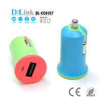 11W/2.1A High-Output Female Socket Travel Car Vehicle & Wall Outlet Charger Power Adapter