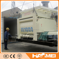 Easy Control Bucket Concrete Mixer With High Quality