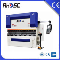 100t Hydraulic Press Brake Wc67y-100t/2500, 2500mm Sheet Metal Bending Machine, Hydraulic Plate Bending Machine