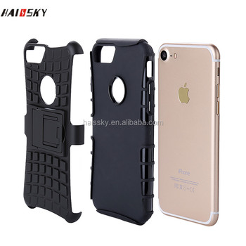 HAISSKY mobile phone protective sleeve 5.5 inch tire pattern combo falling water sleeve support mobile phone shell for iphone 7