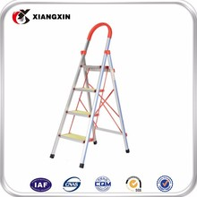 convenient movable foldable grp supermarket ladder