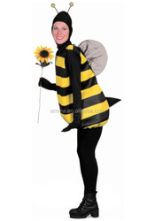 2016 new design sexy girls with animal sex bumble bee carnival costume for women BWG13358