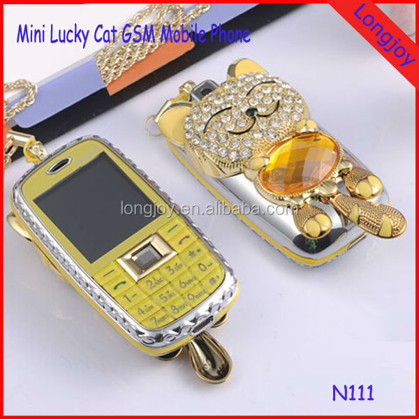 Cheap Lucky Cat Mini GSM Mobile Phone